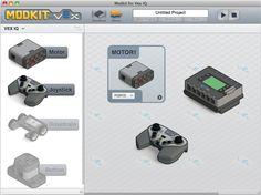 Modkit for VEX Robotics Club, Stem Learning, Teacher Tools, Arduino, Fitbit, Projects, Lego, Kids, Log Projects