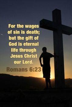 Romans 6:23 ________________________________ Elisa