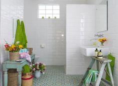 Huisraad en meer....: zomerse badkamer inspiratie en meer...