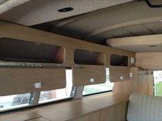 Vw Camper Ideas Motorhome Interior - Home Decoration Interior Kombi, T4 Camper Interior Ideas, Motorhome Interior, Van Interior, Camper Ideas, Truck Camper, Camper Trailers, Kombi Camper, Transporteur Volkswagen