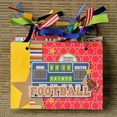 Football Mini Album - Scrapbook.com