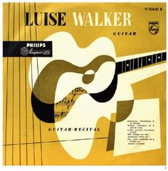 Luise Walker on Phillips 1950's