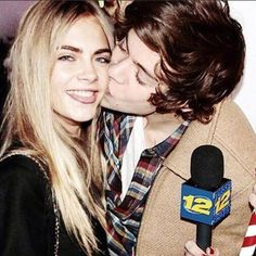 Cara Delevingne and Harry Styles