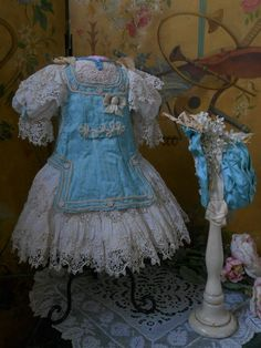 ~~~ Pretty French Bebe Costume with Bonnet ~~~ from whendreamscometrue on Ruby Lane