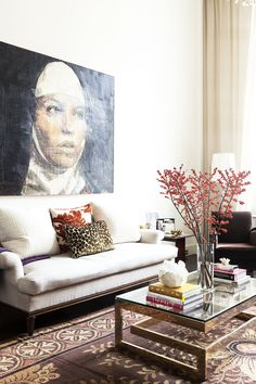 Inside the Fashionable Home of MILLY Designer Michelle Smith via @MyDomaine