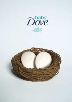 Key visual project for Dove baby soap bar. Visual Advertising, Creative Advertising, Advertising Poster, Advertising Design, Advertising Ideas, Ads Creative, Creative Posters, Soap Advertisement, Ideas