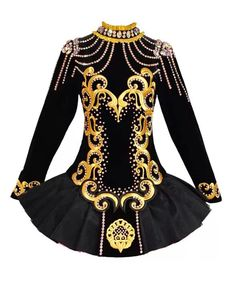 Siopa Rince 2014 Irish Dance Solo Dress Costume - class agh motif