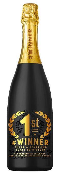 #WINNER lakka-seljankukka 0% 75cl alkoholiton kuohuviini | Lasso Drinks
