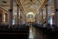 Inside Catedral Metropolitana