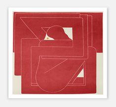 Hay 'Richard Colman' print red