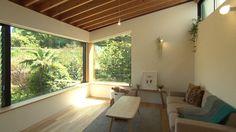 2階 居間 Japan Interior, Interior Styling, Interior Design, Home And Deco, Bungalow, Entrance, House Design, Windows, Living Room