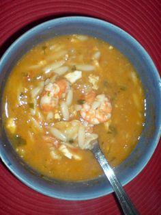 Massinha Rica do Mar - Sopa de Peixe Especial Bimby