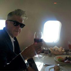 I want to fly with David Lynch, it looks fun and yummy. David Keith, David Lynch, Dead Man, Weird And Wonderful, Twin Peaks, Film Director, A Good Man, Insta Like, Feel Good