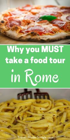 If ever there was a city for a food tour, it's Rome! Food is a big part of travel, especially travel in Italy. Food tours are a great way to learn about the cuisine. So which food tour in Rome should you take? Here's a look at two food tours we've taken in Rome. things to do in Rome | what to do in Rome | take a food tour in Rome | food tour in Italy