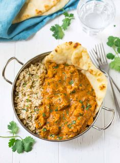 Instant Pot Butter Chicken | Healthy Instant Pot Chicken Recipe