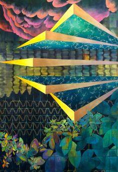 "Saatchi Art Artist Alice Case; Alternate Reality Painting, ""Nigh"" #art"
