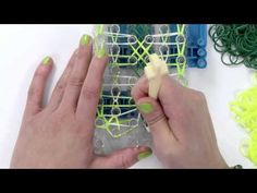 ▶ Rainbow Loom How To: Double Fishtail Ladder - YouTube