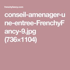 conseil-amenager-une-entree-FrenchyFancy-9.jpg (736×1104)
