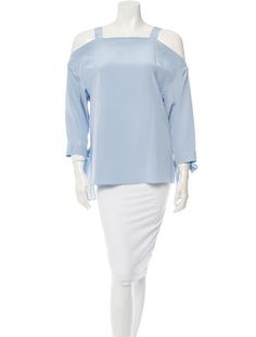 Tibi Silk Top