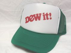 DEW IT Trucker Hat - Products, Business and Brands Trucker Hats & More