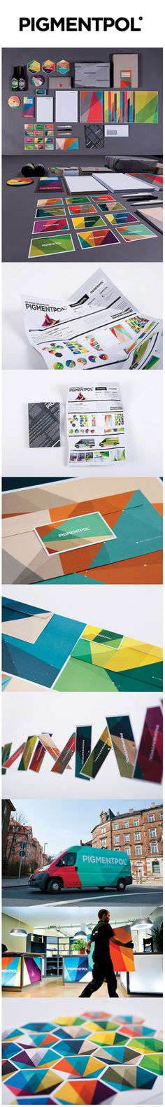 Pigmentpol - I love everything about this branding, it's just so appealing, the texture, colourful but not overdone
