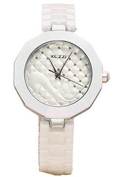Kezzi Women's K1115 Fashion Luxury Quartz Analog Ceramic Bracelet Silver Watch Kezzi http://www.amazon.com/dp/B012BZULVE/ref=cm_sw_r_pi_dp_3hkSvb0K9B1XP