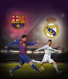 FC Barcelona vs Real Madrid, a great match for iCroms lovers. Collect great moments!