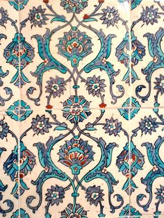 Tile from Martyn Lawrence Bullard Blog - From Istambul to Rajasthan