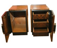 Pair of Art Deco Night Stands by Donald Deskey image 2