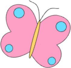 Pink and Blue Butterfly Clip Art - Pink and Blue Butterfly Image Butterfly Clip Art, Butterfly Images, Blue Butterfly, School Decorations, Color Rosa, Art Images, Tweety, Smurfs, Pink Blue