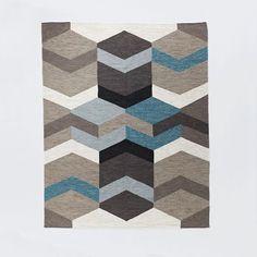 Geo Wool Kilim   West Elm, 8x10, $479 (was $599), http://www.westelm.com/products/geo-wool-kilim-t969/?pkey=crugs-flooring%7C4294959595&cm_src=rugs-flooring  FN-Product%20Type-_-FN-Area%20Rug-_--_-