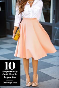 Flawless Summer Outfits Ideas For Slim Women That Looks Cool - Oscilling Mode Outfits, Office Outfits, Chic Outfits, Office Attire, Ladies Outfits, Woman Outfits, Estilo Fashion, Ideias Fashion, Sunday Church Outfits