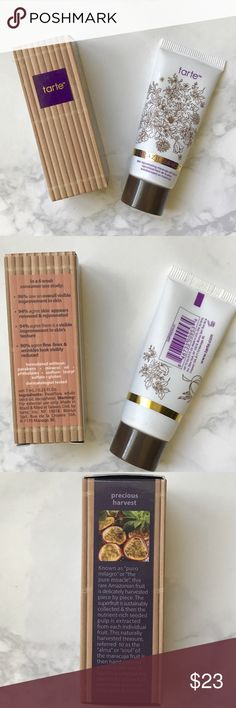Tarte Maracuja Oil and Rejuvenating Self Tanner Brand New Deluxe Minis from Tarte Maracuja Oil and Brazilliance Skin Rejuvenating Maracuja Self Tanner. From the amazing superfruit maracuja fruit. Travel Size Minis. Perfect for your vacation. tarte Makeup