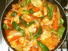 鶏むね肉と野菜のトマト缶煮♪簡単の画像