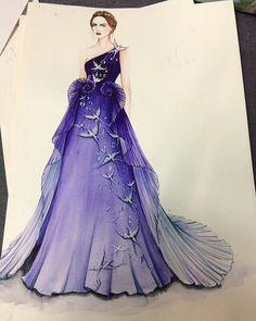 Dress Design Drawing, Dress Design Sketches, Fashion Design Sketchbook, Fashion Design Drawings, Dress Drawing, Fashion Sketches, Fashion Illustration Collage, Dress Illustration, Fashion Illustration Dresses