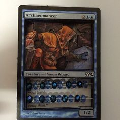 Magic Life Counter  Archaeomancer by TheSpinkyKitten on Etsy, $15.00