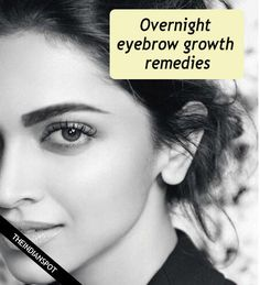 If you are looking to grow your eyebrows to enhance the natural features and beauty of your face, then try using natural remedies. Massage : Massage the eyebrow area with a small amount of olive, c… Natural Beauty Remedies, Home Remedies For Acne, Natural Beauty Tips, Thin Eyebrows, Perfect Eyebrows, Eyeliner, Eyebrow Makeup, Eyebrow Brush, Eye Brows