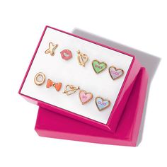 You will love this product from Avon: Sweet Candy 5 Pair Earring Set Ages Betty Boop, Best Valentine's Day Gifts, Valentines Day Gifts For Her, Jewelry For Her, Gifts For Girls, Earring Set, Crafts, Avon Brochure, Avon Online