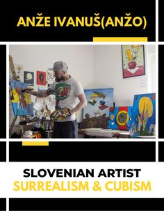 Anzo is a slovenian artist who paints surrealistic paintings combined with cubism. Check out all of his artworks on our webshop! Office Interior Design, Office Interiors, Interior Decorating, Central And Eastern Europe, Cubism, Online Art Gallery, Art For Sale, Buy Art, Artworks