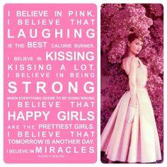 Audrey Hepburn, I Believe