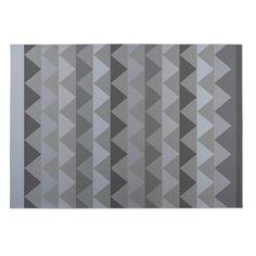 Kavka Designs White Caps 2' x 3' Indoor/ Outdoor Floor Mat