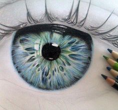 36 Ideas Drawing Realistic Sketches Colored Pencils For 2019 Cool Drawings, Drawing Sketches, Drawing Eyes, Eye Sketch, Sketching, Realistic Drawings, How To Draw Realistic, Eyeball Drawing, Horse Drawings