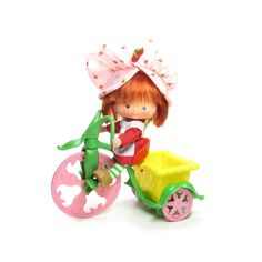 Strawberry Shortcake Tricycle Vintage toy for dolls