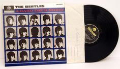Beatles. A HARD DAY'S NIGHT - ROCK, PSYCH, PROG, POP, SHOE GAZING, BEAT