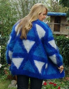 Blue Cardigan, Cardigans, Sweaters, Warm And Cozy, Coats, Pullover, Nice, Fashion, Winter Fashion