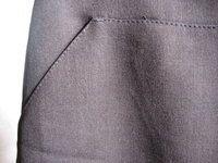Mini jupe chic H&M marron foncé http://videdressingdetrendyplum.over-blog.com/
