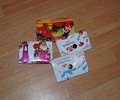 Punger av melkekartonger Diy And Crafts, Kindergarten, Recycling, Gift Wrapping, My Love, Gifts, Craft Ideas, Diy Ideas, Design