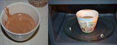Torta in tazza al microonde con yogurt alla nutella,una golosità unica,da preparare e gustare in 5 minuti.Una torta sofficissima