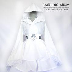 Princess Leia Organa Star Wars Cosplay Kimono Dress Wa Lolita Skirt Costume   Darling Army