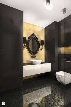 Mieszkanie | Wilanów - zdjęcie od ZAZA studio - Łazienka - Styl Glamour - ZAZA studio